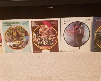 33 movies in VideoDisc format
