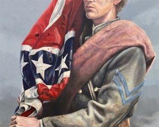 "Original Oil painting, ""Crowned With Glory"" by  Michael Gnatek Jr."