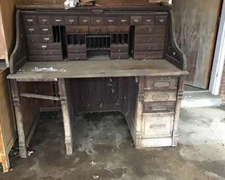 Primitive Antique Desk
