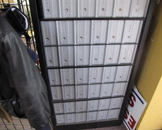 Mail Boxes with Keyed Entry - 60 Total Units