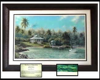 Large and Gorgeous Signed and Numbered Tripp Harrison Print