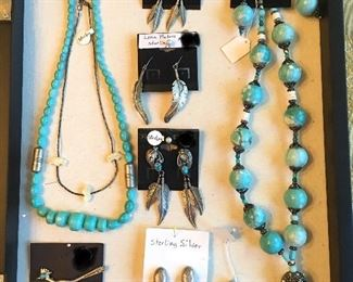Southwest Turquoise & Sterling Silver Jewelry