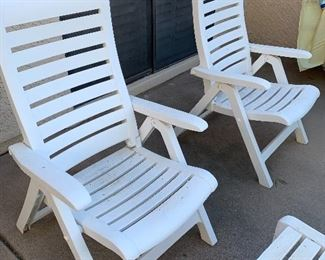 Patio Furniture. Additional furniture is available.   Not pictured are two lounge chairs, Umbrella, and seat covers (never) used.  Pictures soon to follow.
