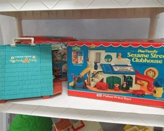 Fisher Price Playsets ! Sesame Street, Airport