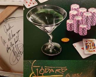 Michael Godard Signed Giclee Wall Art