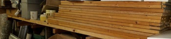 Wood planks for shelving  $2 ea!