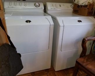 New washer and gas dryer Now $400 set