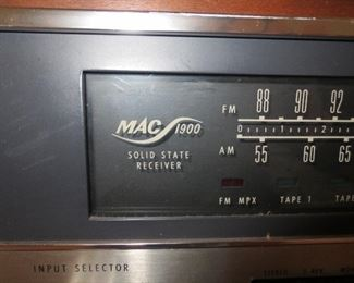 MAC 1900 Solid State Reciever