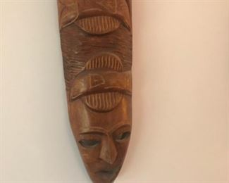 carved art work $45 each