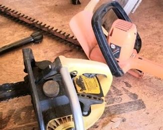 Several different saws