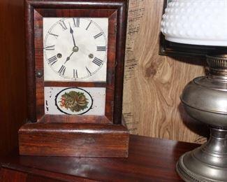 Vintage key wind clock