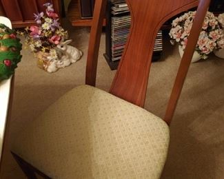 6 chairs with dining room set