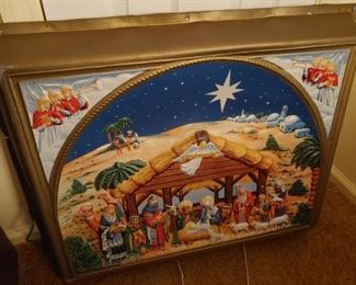 Many Christmas items