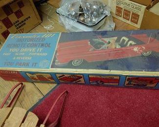 1964 Remote control car in original box