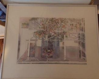 Loretta Brown watercolor prints