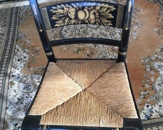 One of set of 4 Hitchcock chairs