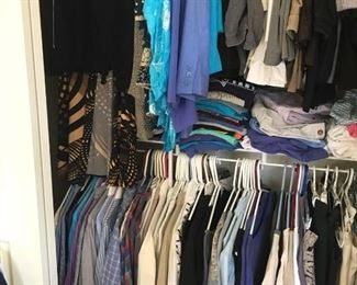Loads of great ladies clothing -sizes small -medium