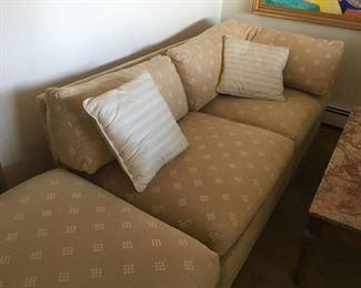 Sofa bed & ottoman