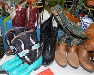vintage Western Boots...mens and ladies