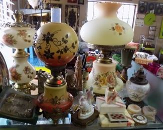 vintage lighting and lamps