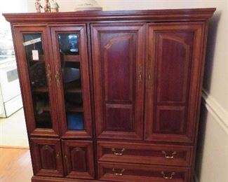 Dining Room-Entertainment Center