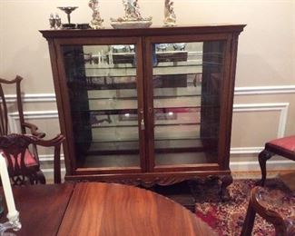 Ball and Claw Large curio Antique ! 600.00