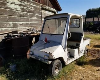 Old golf cart - GREAT DIY PROJECT!