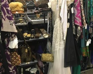 Assorted accessories and clothing - all decades