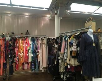 Tons of vintage clothing!