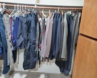 High end Men's Clothes & Suits-Large Walk In Closet in impecable condition-Christmas Idea