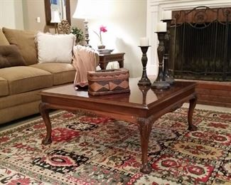 This lovely cherry coffee table is by Lane