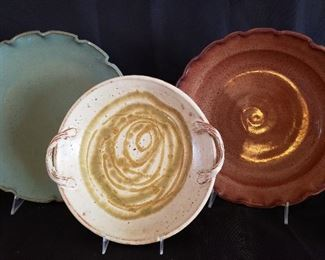 There are dozens of clay potter plates