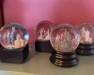 Saks Fifth Avenue snow globes