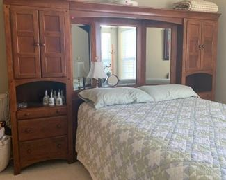 3 piece bedroom headboard.