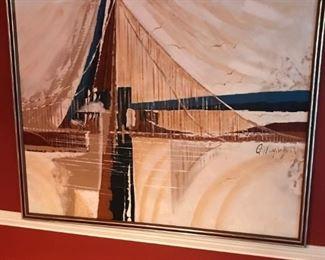 Original painting by Gillinghan(?)