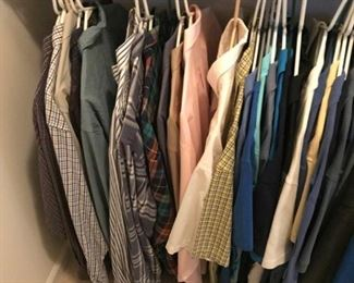 Men's clothing XL and tall