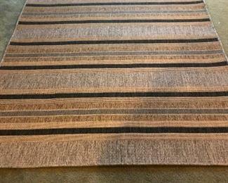 """Indoor/outdoor rug 63"""" x 86"""""""