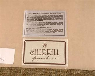 Sherrill sofa and chair