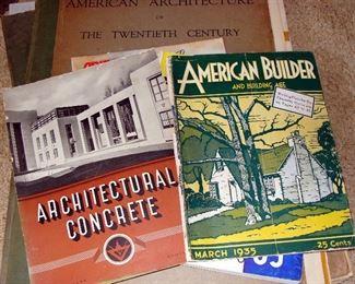 Mid Century, Vintage, Books, Architecture, House Plans, 1920's, 1930's, 1940's, 1950's