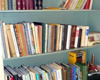 Vintage Books, Art, Architecture, Cookbooks