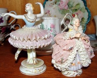 Vintage China, Dresden Lace, Germany, Occupied Japan