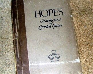 Vintage Architecture Book, Hope's Casements and Leaded Glass, 1920's