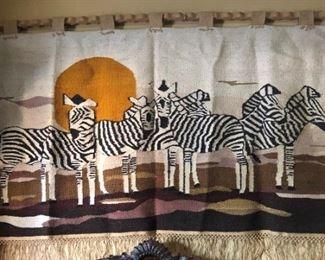 Zebra Blanket/Wall Hanging