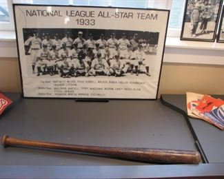 Vintage baseball bat