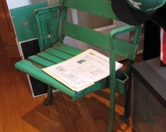 Comiskey Park bleacher seat