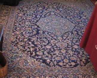 Oriental rug with center medallion