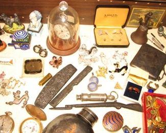 Vintage whistle, Vintage pocket watches, Vintage jewelry