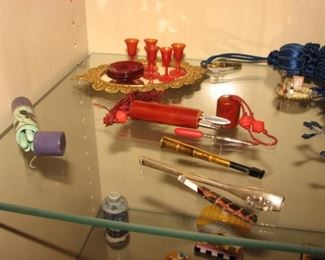 Vintage miniature dollhouse accessories, Vintage  cigarette holders