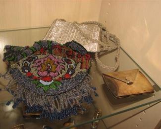 Vintage beaded purses