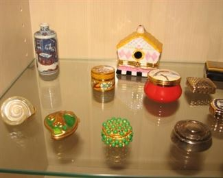Vintage pill boxes